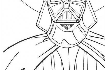 Coloriage star wars coloriage star wars du commandant clone - Dark vador coloriage ...