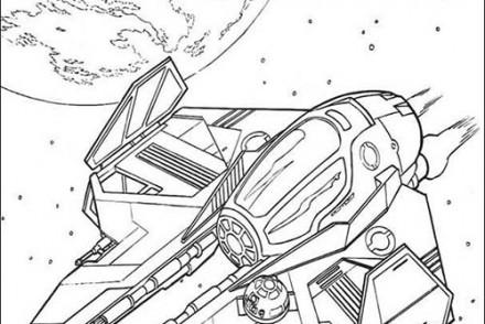 Coloriage star wars imprimer 1001 - Dessin facile star wars ...