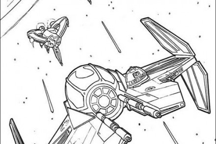 coloriage star wars coloriage star wars du vaisseau