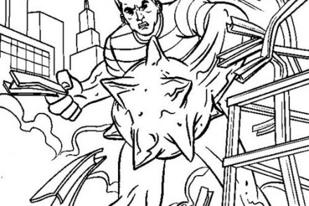 Coloriage-Spiderman-Lhomme-de-sable-detruit-un-immeuble.jpg
