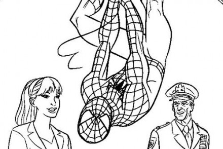Coloriage-Spiderman-Spiderman-recoit-les-cles-de-la-ville.jpg