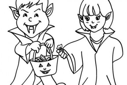 Coloriage-VAMPIRE-HALLOWEEN-2-enfants-DEGUISES-en-VAMPIRE.jpg
