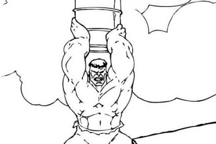 Coloriage-de-HULK-Coloriage-de-Hulk-qui-lance-un-baril.jpg