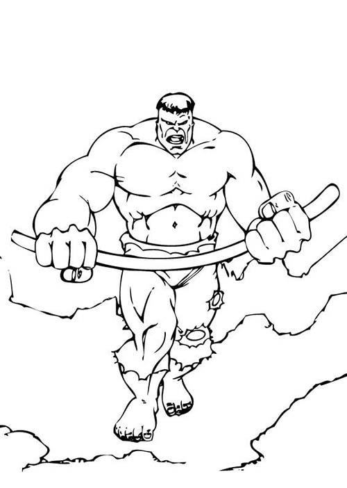 Coloriage-de-HULK-Coloriage-de-Hulk-tordant-une-baramine.jpg