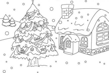 Coloriage-de-Sapins-de-Noel-Sapin-de-Noel-sous-la-neige-a-colorier.jpg