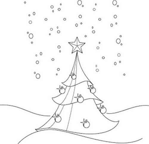 Coloriage-de-Sapins-de-Noel-Sapins-de-Noel-sous-la-neige-a-colorier.jpg