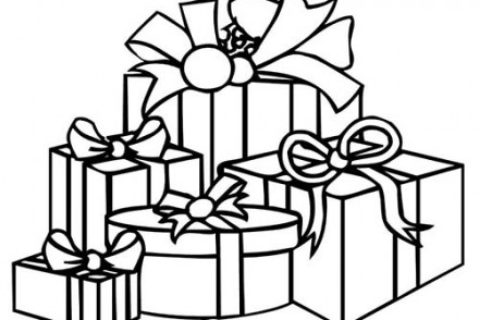 Coloriage cadeaux de noel imprimer 1001 - Cadeau coloriage ...