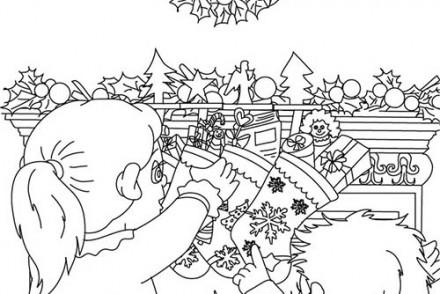 Coloriage-des-Cadeaux-de-Noel-Coloriage-chaussette-noel-cadeau.jpg