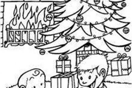 Coloriage-des-Cadeaux-de-Noel-Coloriage-de-la-decouverte-des-cadeaux-.jpg