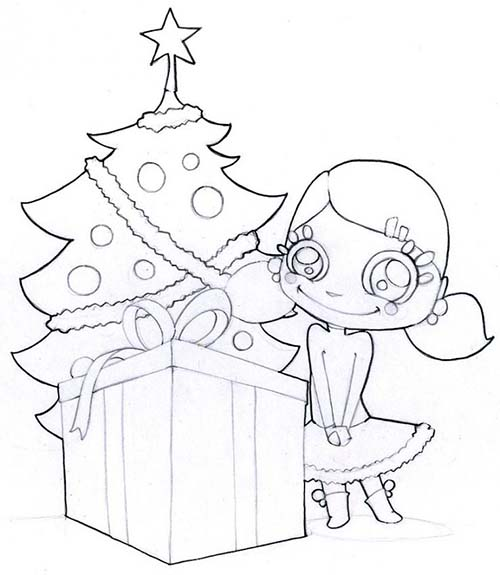 Coloriage-des-Cadeaux-de-Noel-Coloriage-dun-gros-cadeau-devant-le-sapin.jpg