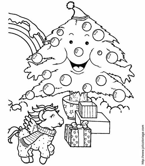 Coloriage-des-animaux-de-Noel-Coloriage-poney-Noel.jpg
