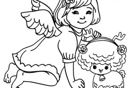 Coloriages-Anges-de-Noel-Petit-ange-au-mouton-a-colorier.jpg