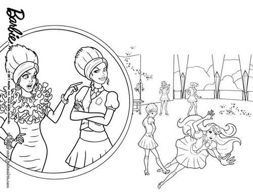 Coloriage barbie apprentie princesse coloriage de la - Coloriage barbie apprentie princesse ...