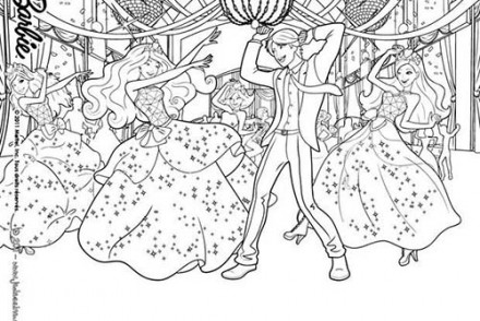 Coloriages-Barbie-Apprentie-Princesse-La-fete-a-lecole-des-Princesses-a-colorier.jpg
