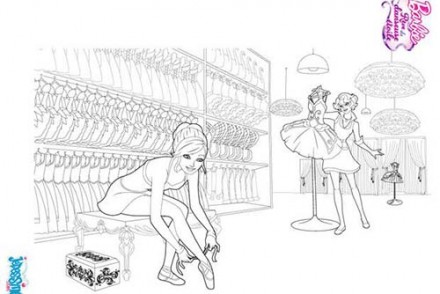 Coloriages-Barbie-Reve-de-Danseuse-Etoile-Barbie-danseuse-en-repetition-a-colorier.jpg