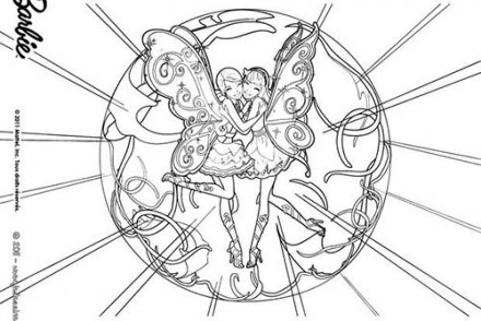 Coloriages-Barbie-et-le-Secret-des-Fees-Barbie-et-Raquelle-dans-la-cage-enchantee.jpg