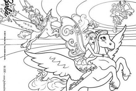 Coloriages-Barbie-et-le-Secret-des-Fees-Coloriage-de-Barbie-sur-son-Poney-aile.jpg