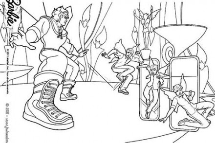 Coloriages-Barbie-et-le-Secret-des-Fees-Le-duel-de-Kane-et-Zane-a-colorier.jpg