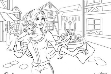 Coloriages-Barbie-et-les-3-Mousquetaires-Coloriage-de-Corinne-avec-son-chat-Miette.jpg