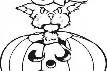 Coloriages-Citrouilles-Halloween-Coloriage-dune-citrouille-et-dun-chat.jpg