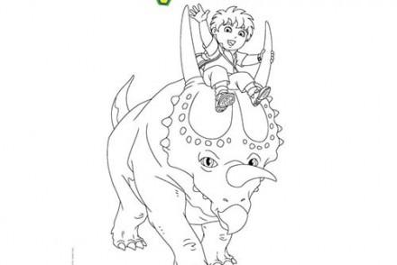 Coloriages-DIEGO-Coloriage-gratuit-DIEGO-et-le-triceratops.jpg
