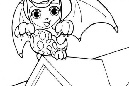 Coloriages-Enfants-deguises-pour-Halloween-Coloriage-de-Teo-deguise-en-dragon.jpg