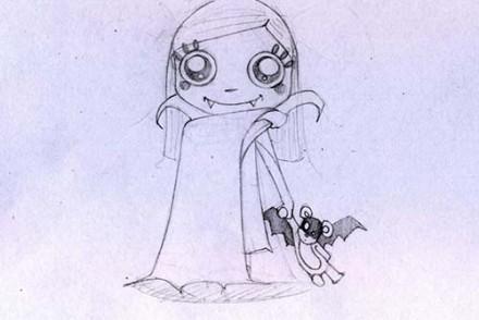 Coloriages-Enfants-deguises-pour-Halloween-Coloriage-de-la-fille-de-Dracula.jpg