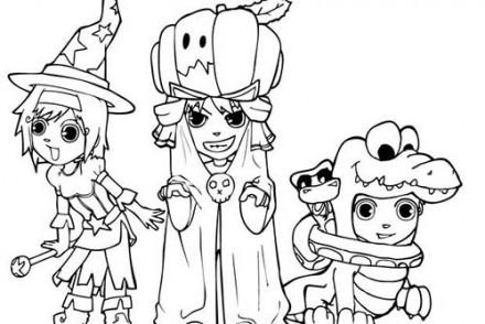 Coloriages-Enfants-deguises-pour-Halloween-Coloriage-du-trio-dHalloween.jpg