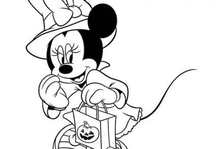 Coloriages-Halloween-avec-Disneyland-Coloriage-de-Minie-et-son-sac-de-bonbons-Halloween.jpg