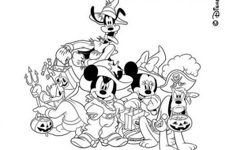 Coloriages-Halloween-avec-Disneyland-Coloriage-de-Pluto-Donald-Dingo-Mickey-et-Minie-deguises-pour-Halloween.jpg