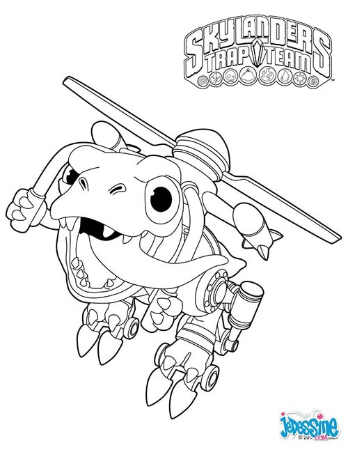 skylanders coloring pages spitfire seattle - photo#5