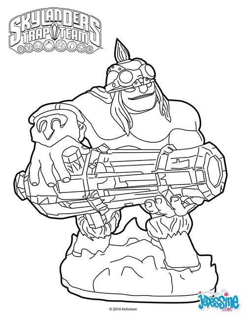 skylanders coloring pages dejau printable - photo#4