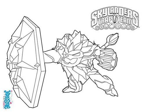 skylanders snapshot coloring pages - photo#15
