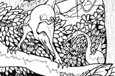 Coloriages-de-Dinosaures-Dinosaures-dans-les-arbres.jpg