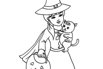 Coloriages-de-Sorcieres-dHalloween-SORCIERE-et-son-chat-a-colorier.jpg