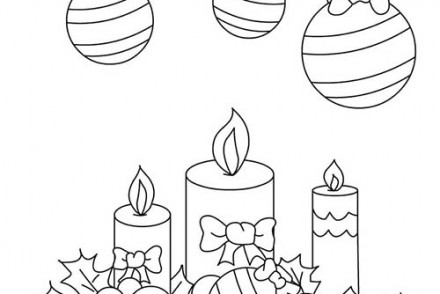 Coloriage decorations de noel imprimer 1001 - Coloriage de houx ...