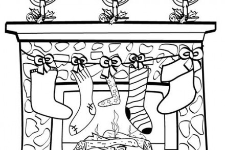 Coloriage de decorations de noel joli houx de noel a imprimer for Decoration noel dessin