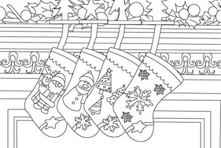 Coloriages-de-decorations-de-Noel-cheminee-noel-decoree-a-colorier.jpg