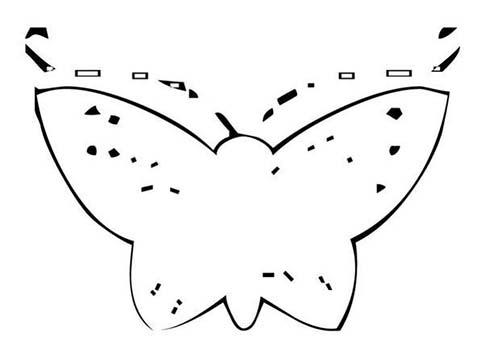 Coloriage de papillons coloriage d 39 un papillon n 19 - Coloriage d un papillon ...