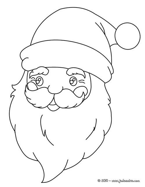 Coloriage du pere noel coloriage pere noel boule de neige - Pere noel dessin facile ...