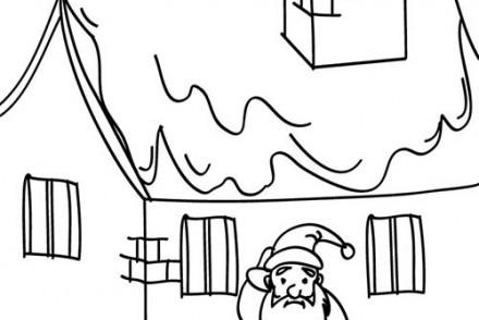 Coloriages-du-Pere-Noel-Coloriage-Pere-Noel-tombe-du-toit.jpg
