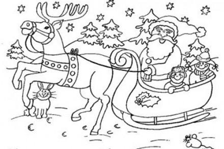 Coloriages-du-Pere-Noel-Coloriage-traineau-aux-cadeaux.jpg