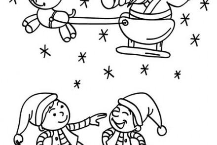 Coloriages-du-Pere-Noel-Papa-Noel-et-lutins-a-imprimer.jpg