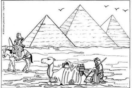 Coloriages-egypte-Chameaux-devant-les-pyramides-de-Gizeh.jpg