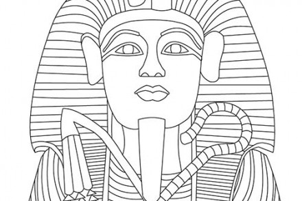 coloriage a imprimer egypte