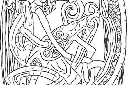 Coloriages-sur-les-origines-celtes-dHalloween-Coloriage-dun-symbole-celte.jpg