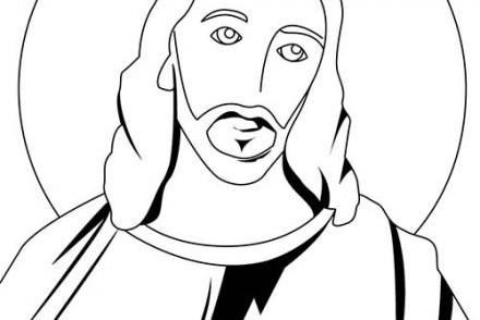 Fete-religieuse-de-Paques-Coloriage-du-portrait-de-Jesus-Christ.jpg