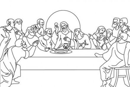 Fete-religieuse-de-Paques-Coloriage-du-repas-de-Jesus-et-ses-apotres.jpg