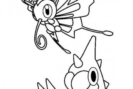 dessin-a-imprimer-du-Pokemon-Chenipotte-et-le-papillon.jpg
