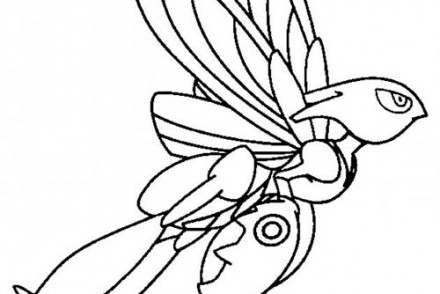 dessin-a-imprimer-du-Pokemon-Cizayox-en-plein-vol.jpg